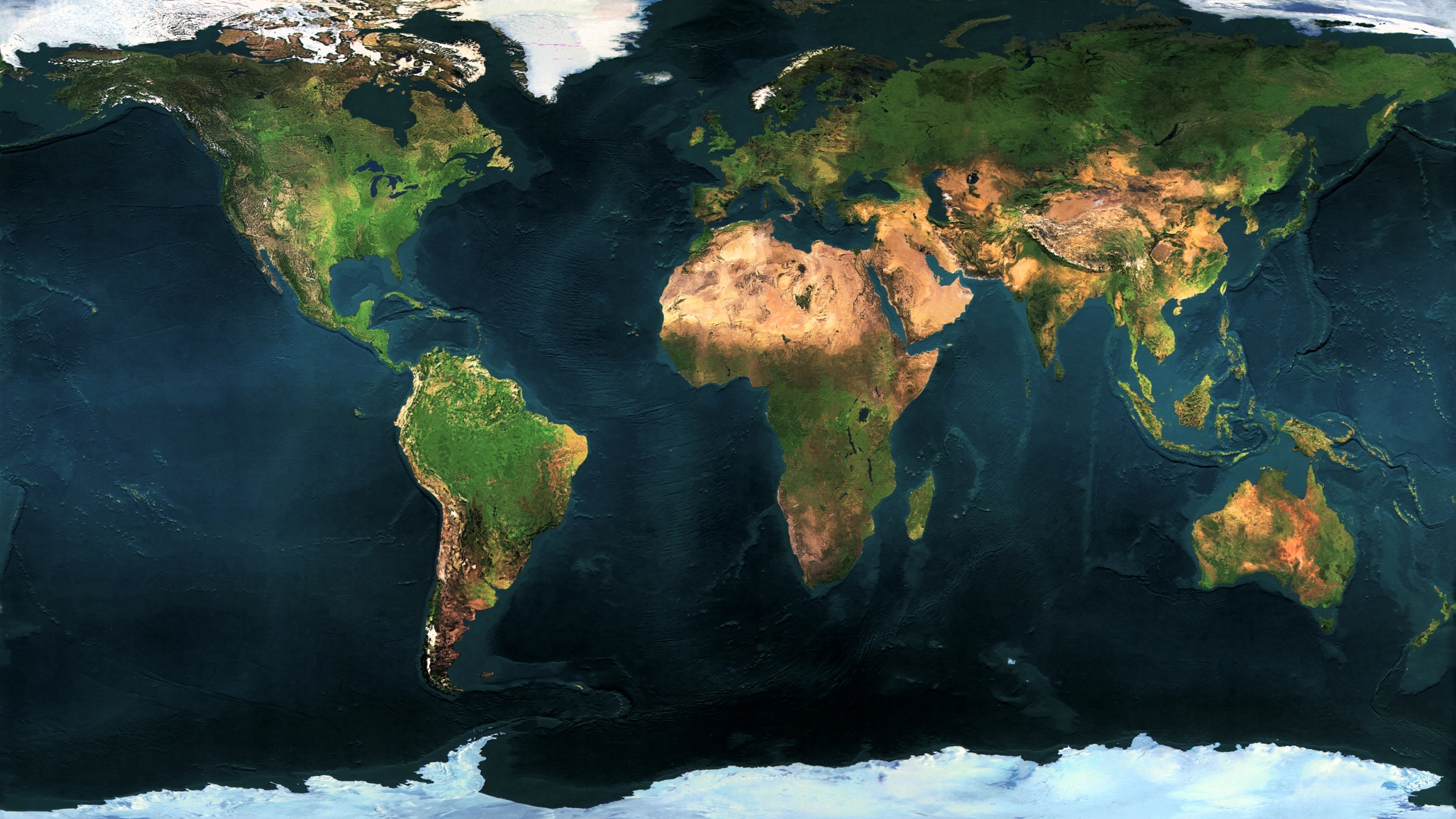 earth and satellite maps - HD2560×1440
